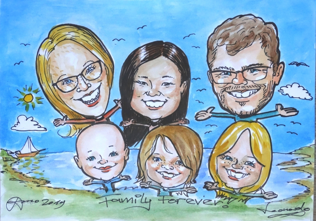 portrait-artist-from-photographs-caricaturist-vancouver-nanaimo-campbell-river-caricatures-from-photo-portrait-painter