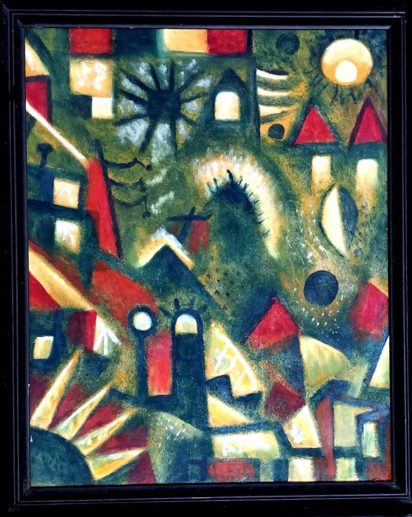 Bilder aus meiner Sammlung anderer Künstler: R. Hirsch, in Öl gemalt, aus meinem Privaten Besitz, Bitte um Ihr Gebot.