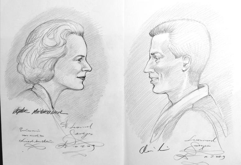 Sophie und Alois von Liechtenstein Mauren, 2009